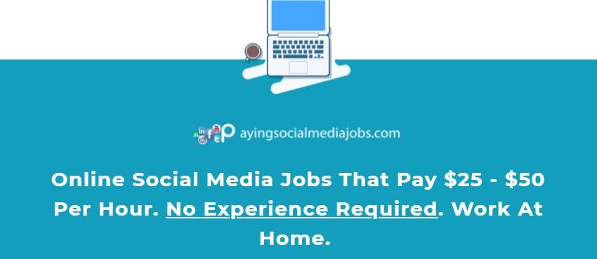 online social media job