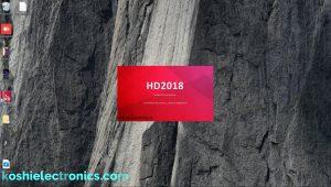 HD 2018 software